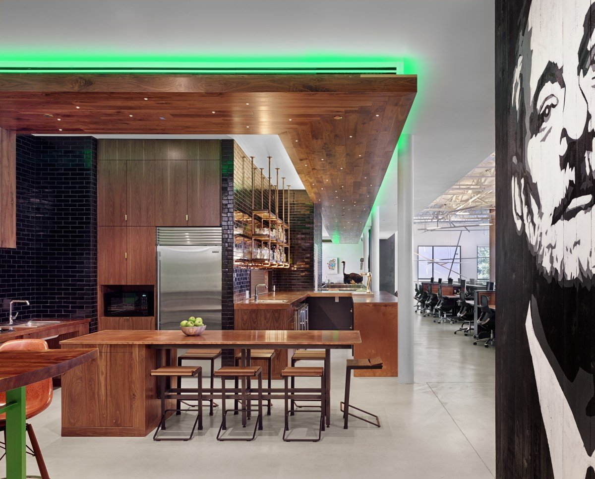 Office At Home Ideas: Take A Tour Of TheCHIVE's Awesome Austin Headquarters