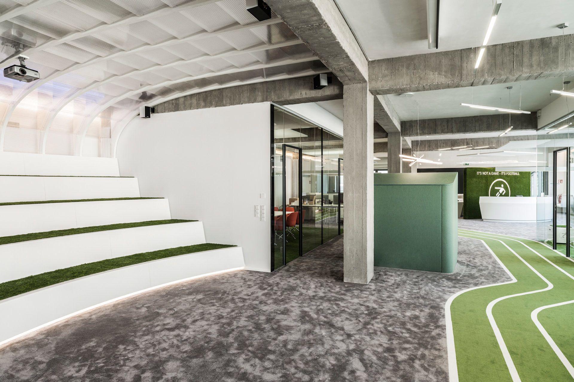 A Look Inside Onefootball S New Berlin Headquarters
