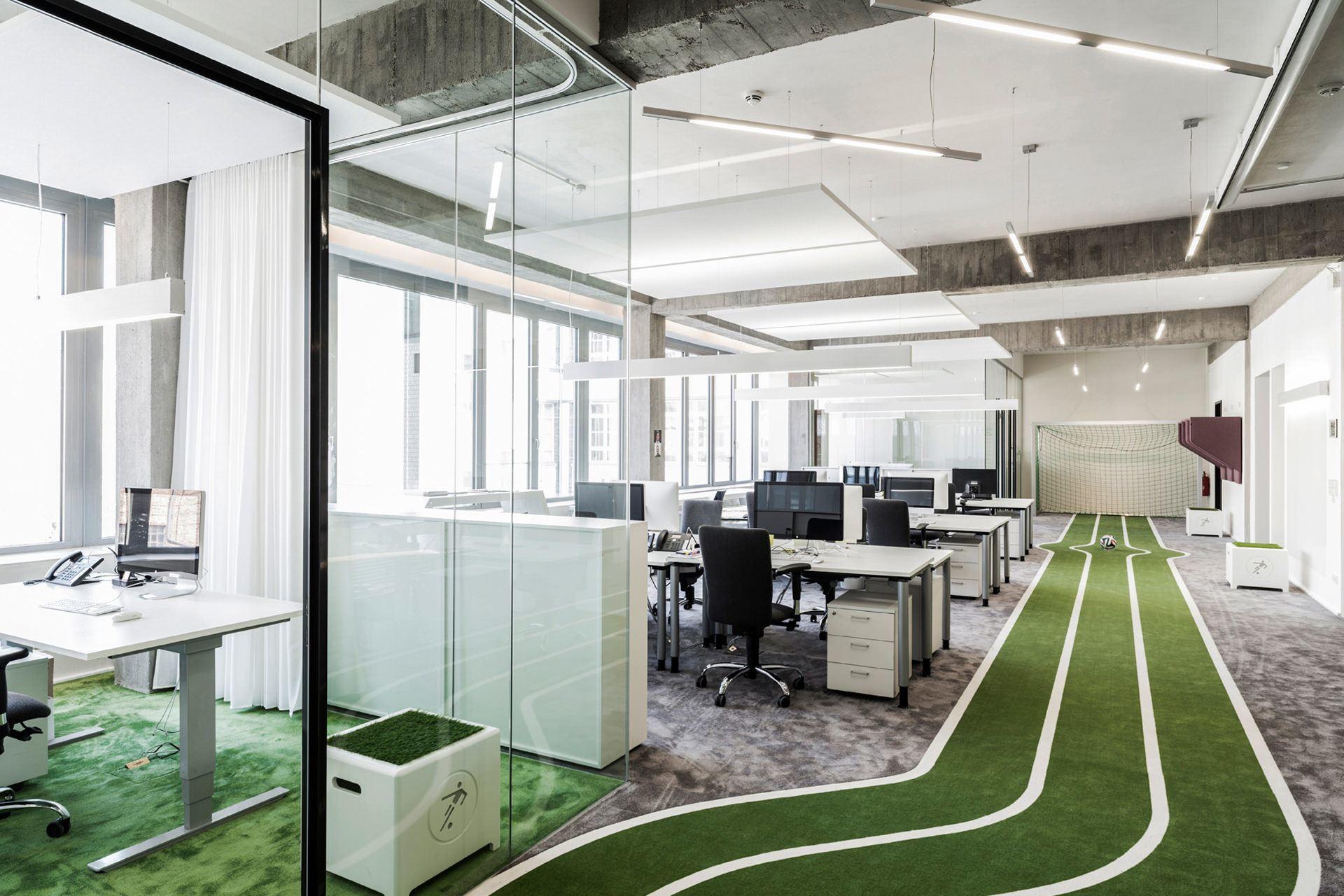 A look inside onefootball s new berlin headquarters officelovin