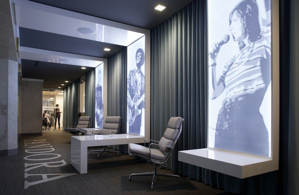 A look inside pandora s stylish chicago offices officelovin 39 for Photography studio office design