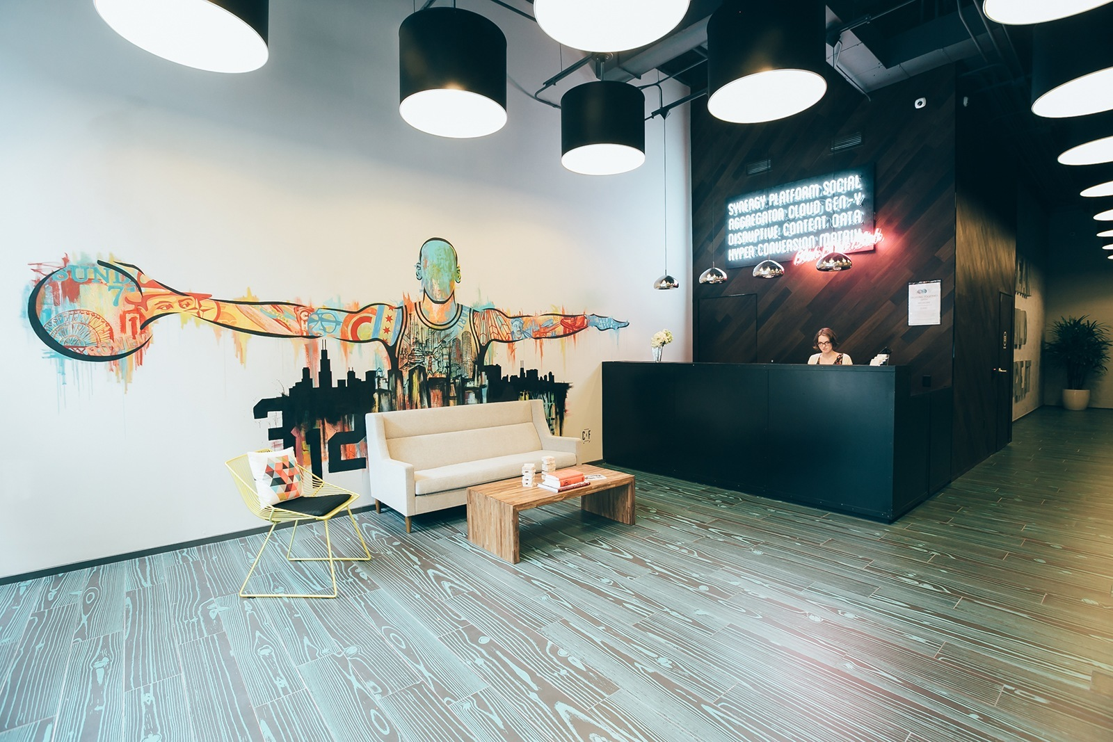 A Tour of WeWork's New Chicago Coworking Space