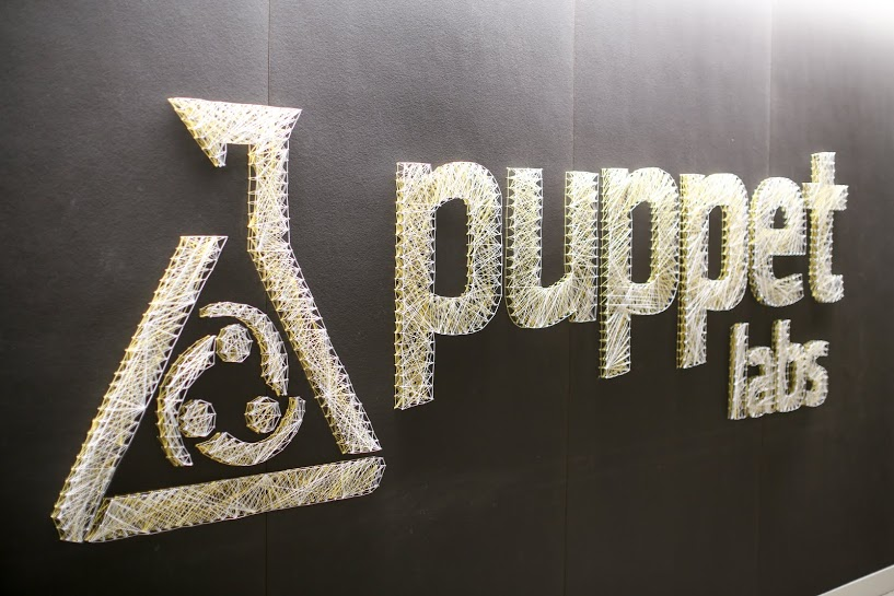 Puppet Labs string art