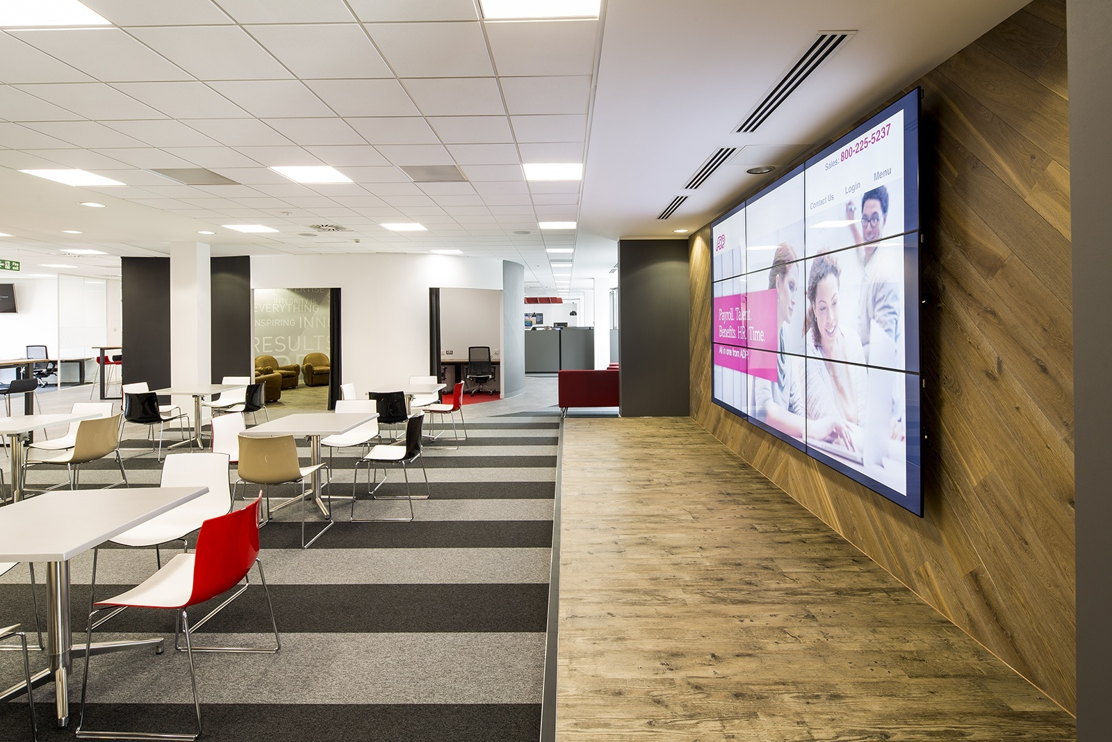 An exclusive look inside adp s new bristol office for Office design bristol