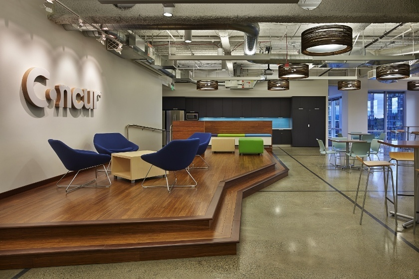 Take a Look at Concur's Modern Headquarters