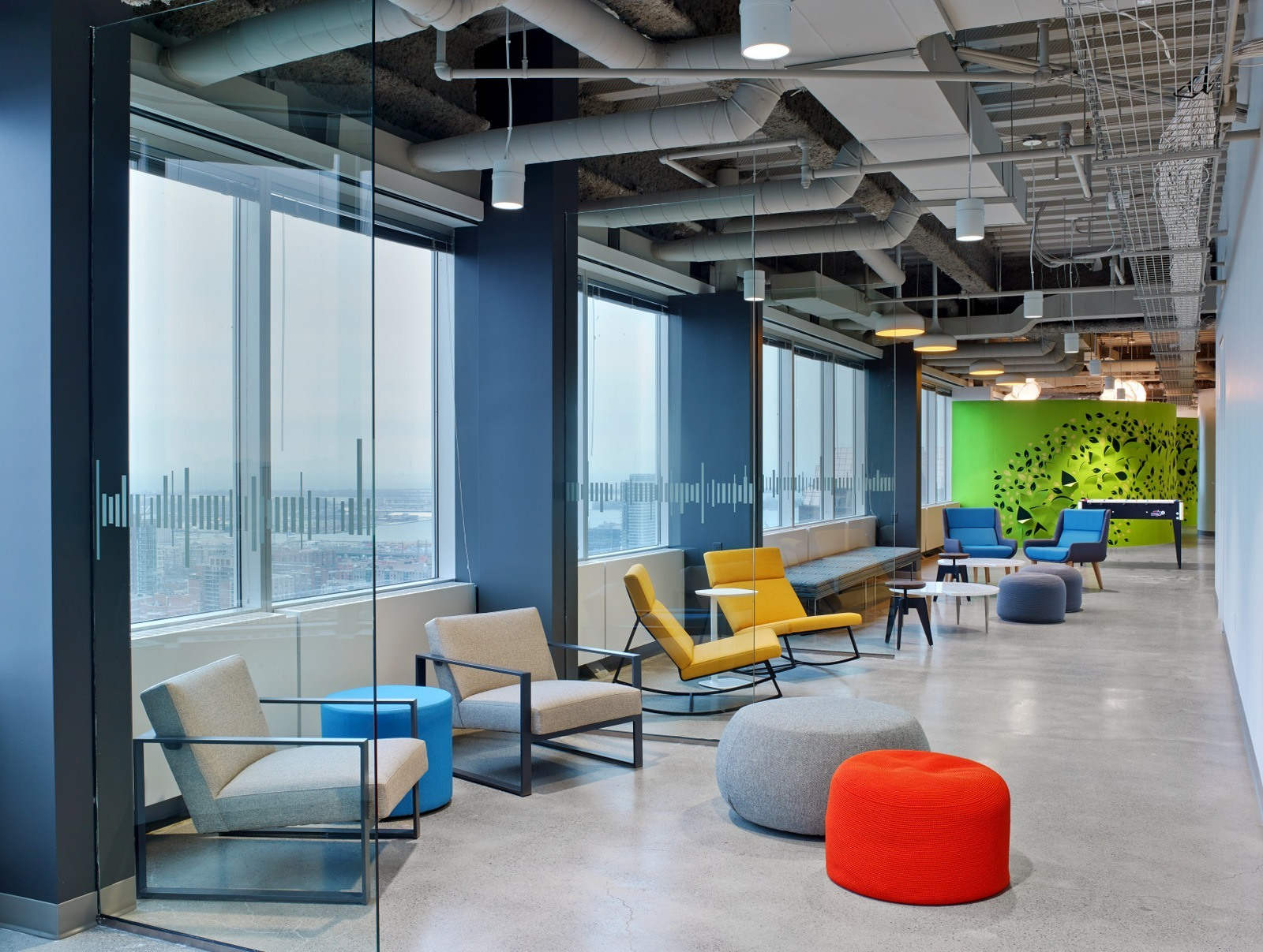 A tour of linkedin s beautiful new toronto office for Office photos