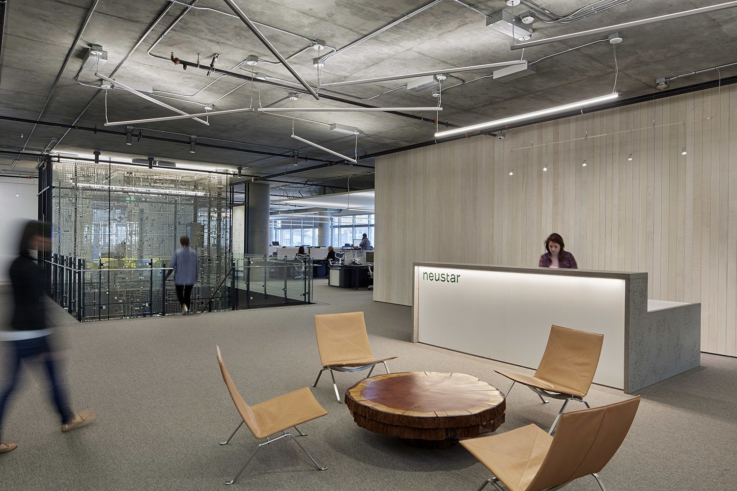 Check Out Photos Of Neustar S Elegant San Francisco Office