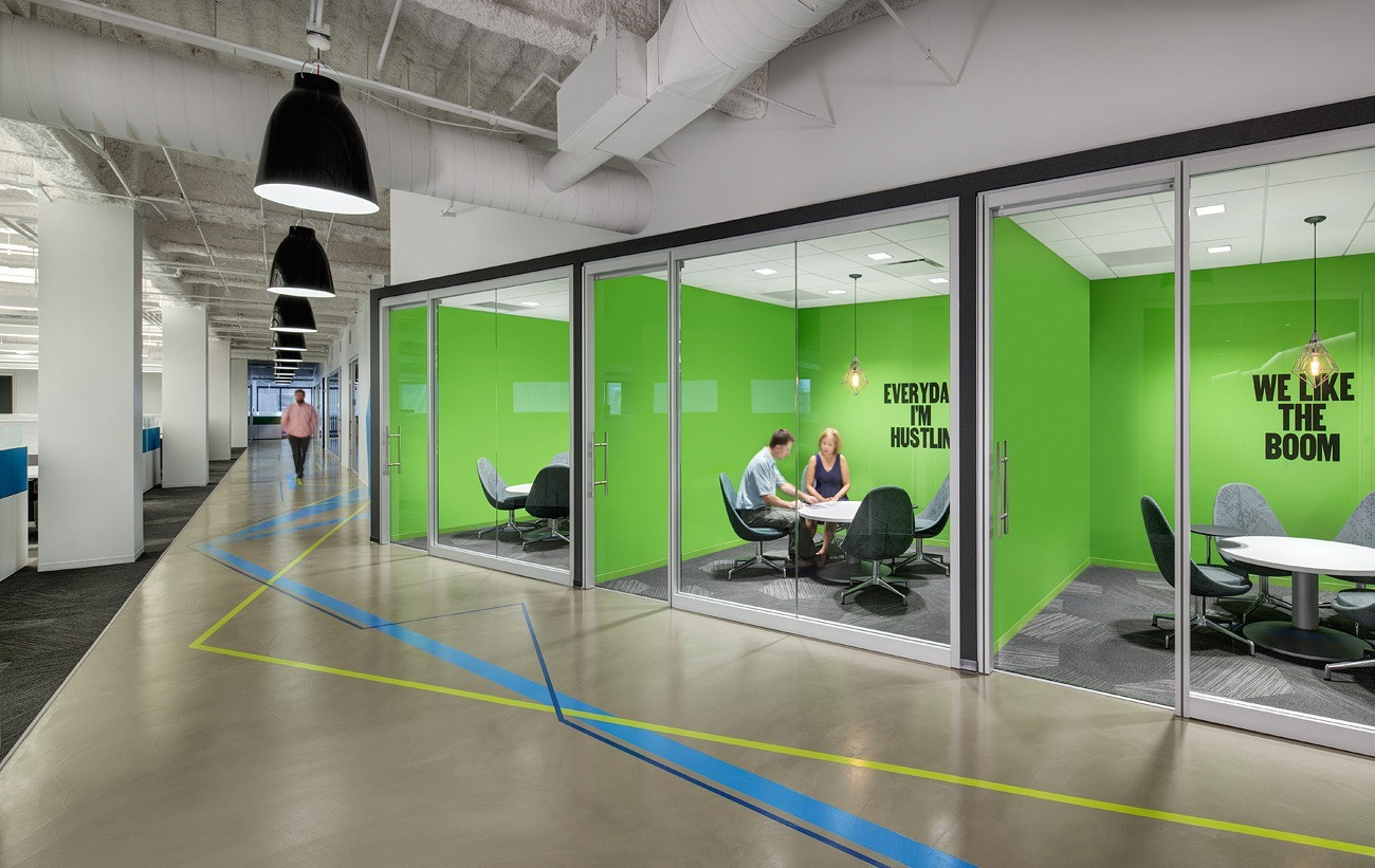 A look inside rocket fuel s new chicago office officelovin 39 - Design office room ...