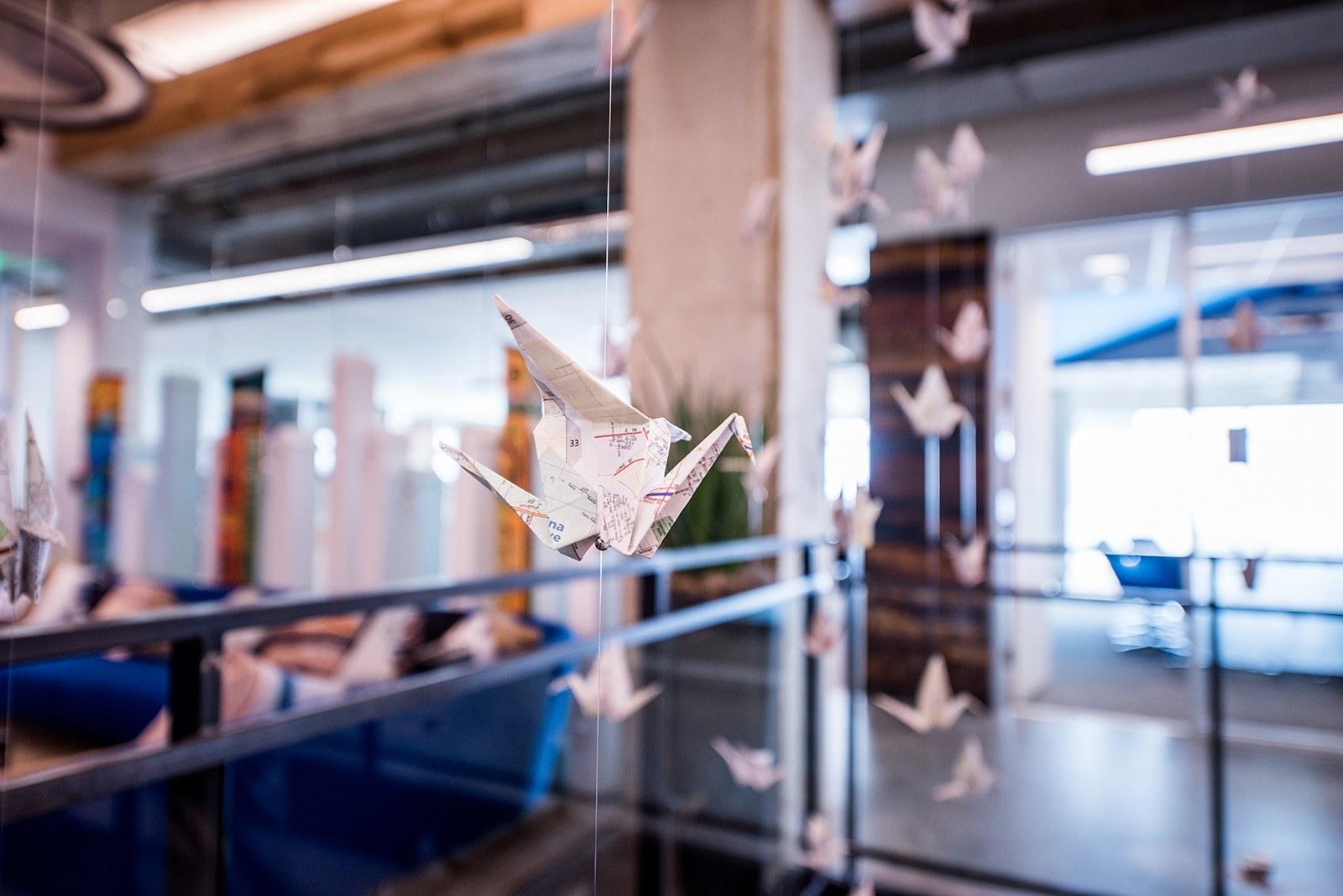 2. HomeAway Domain – paper cranes