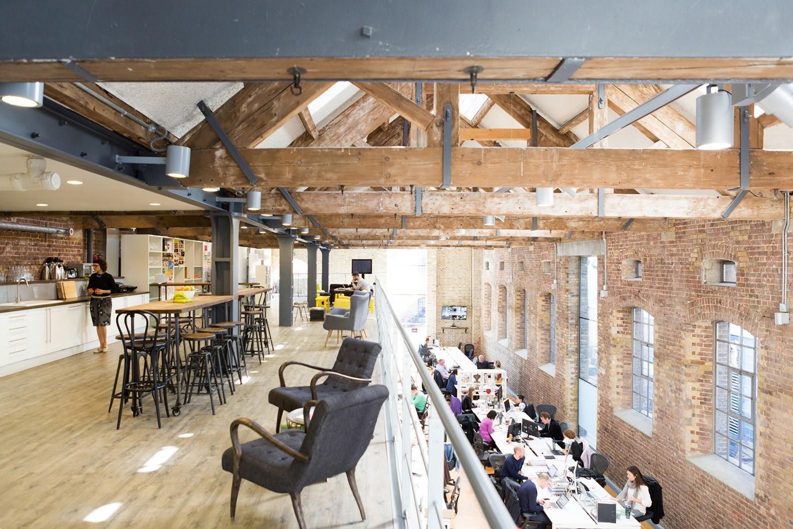 Inside CP+B's Hip London Office