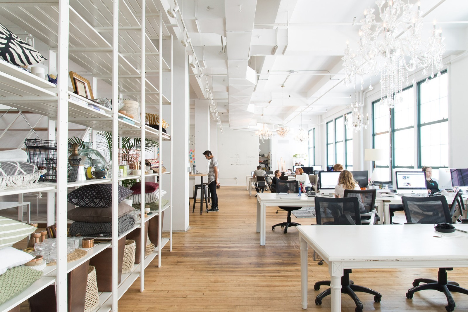 A tour of homepolish s new nyc headquarters officelovin 39 for Office interior design nyc