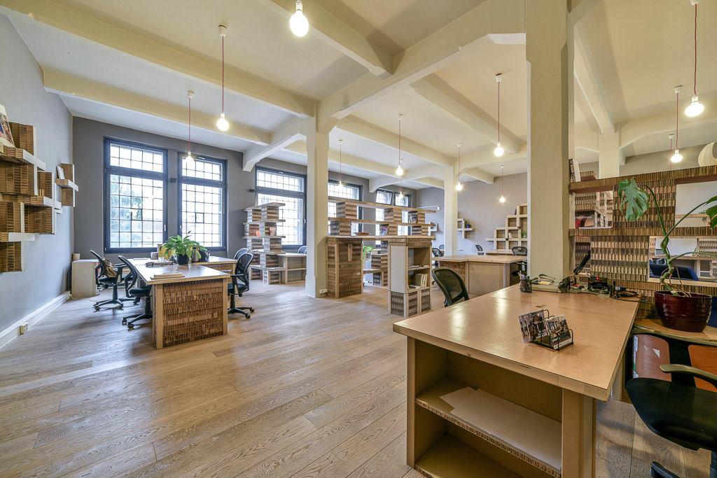 Take a Look Inside Paper Hub's Prague Coworking Space