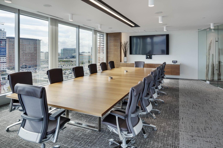 Venture capital firm offices Sand Hill Meeting Room Tour Of Polaris Partners Elegant Boston Office Officelovin