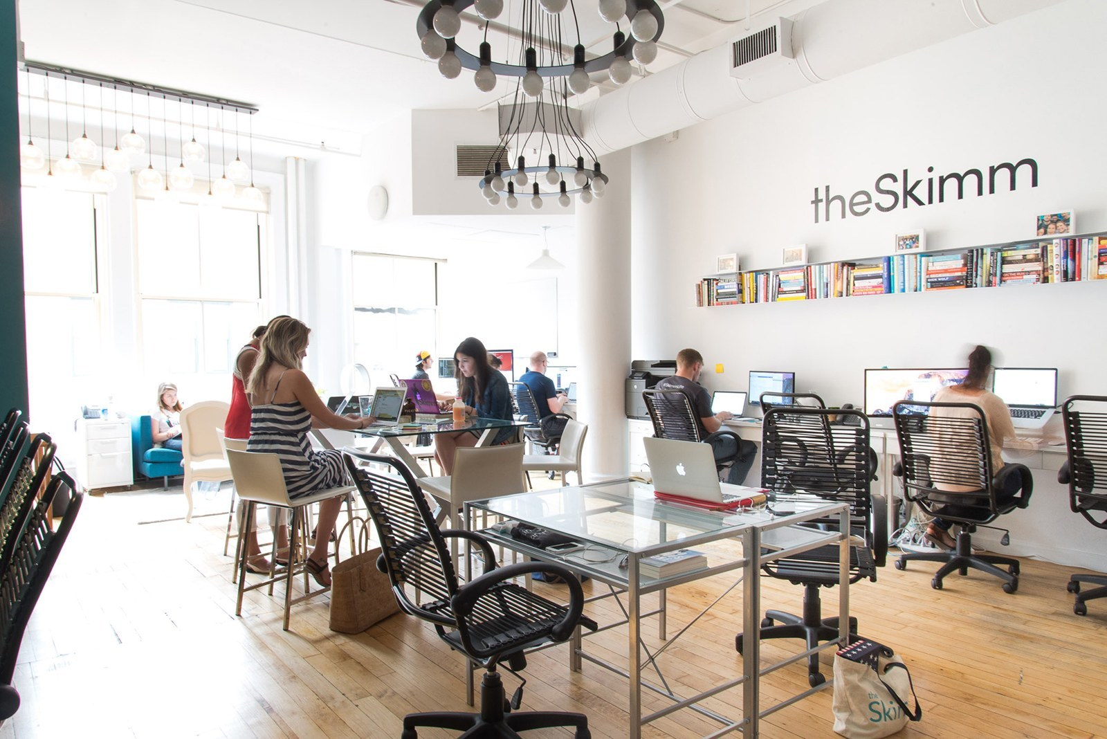 A Tour of theSkimm's Cool New York City Office