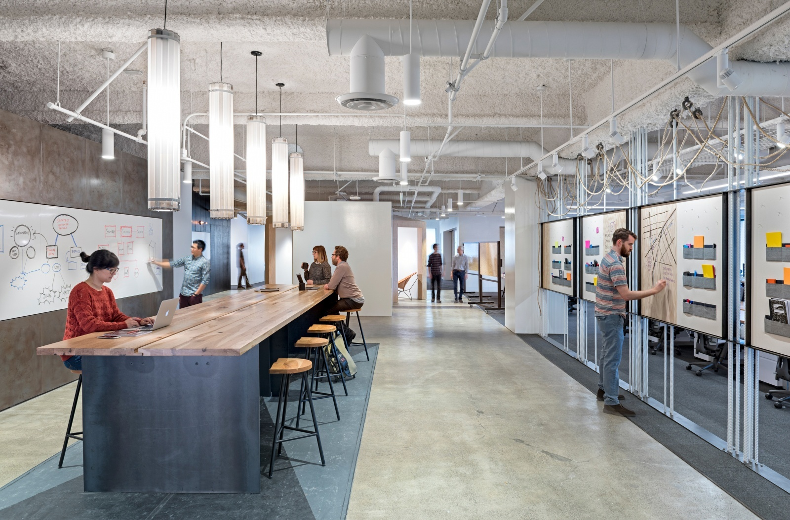 uber office design. Collaboration Space Uber Office Design