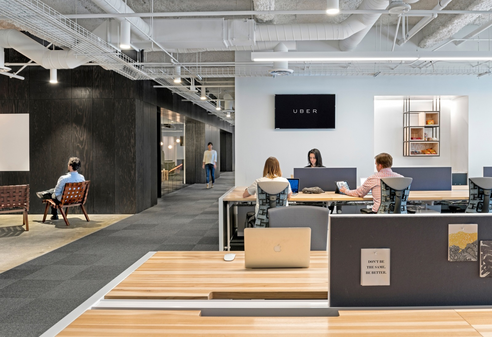 Uber Portland Oregon >> A Tour of Uber's New San Francisco Office - Officelovin