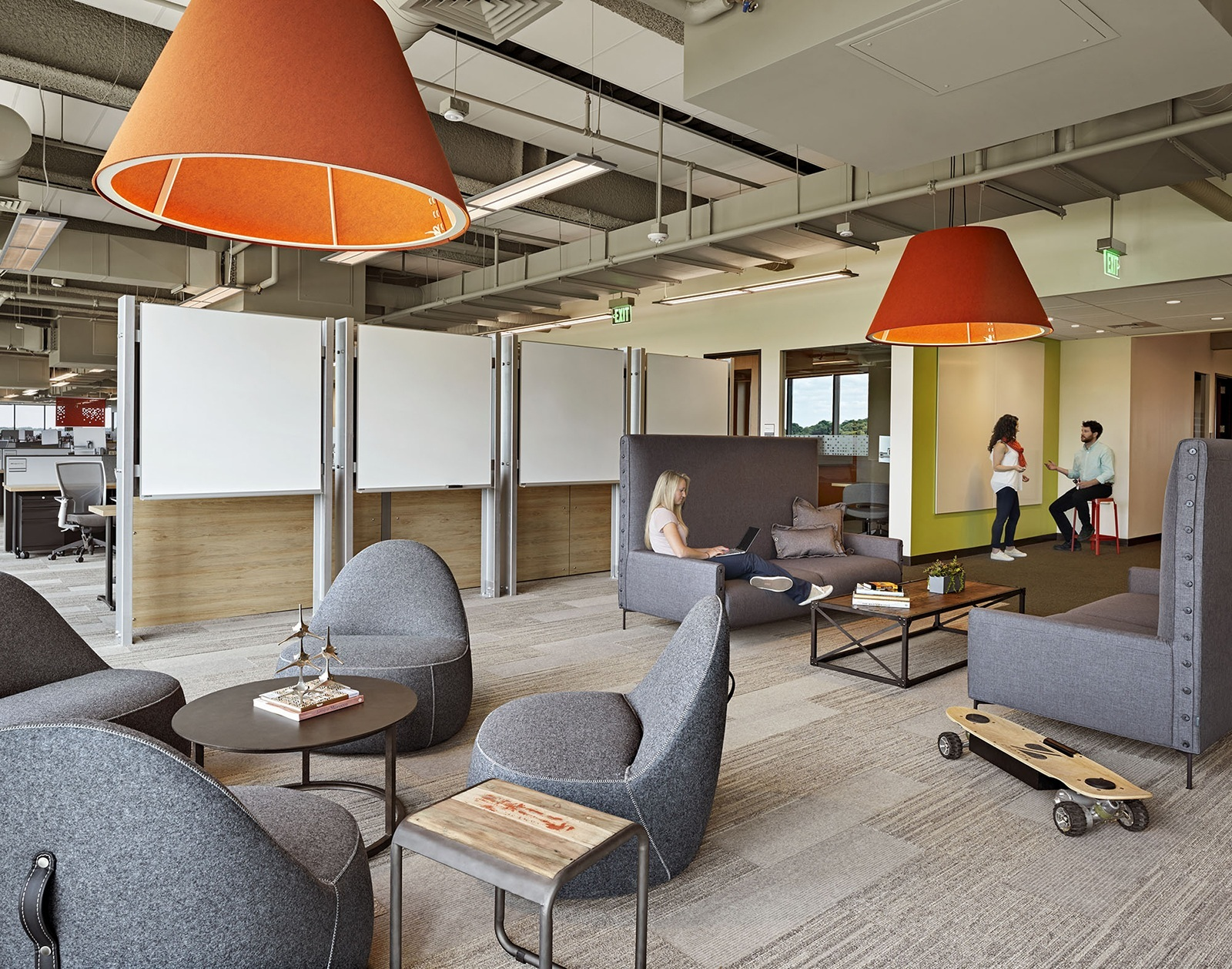 A tour of tripadvisor s new beautiful headquarters officelovin 39 Baker group kitchen design