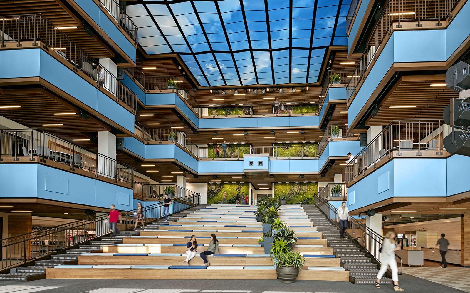 A Tour of TripAdvisor's New Beautiful Headquarters