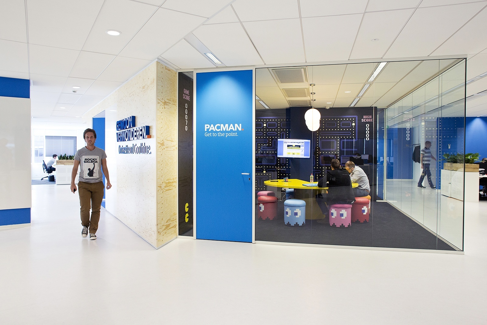 Check Out the Playful Offices of Coolblue