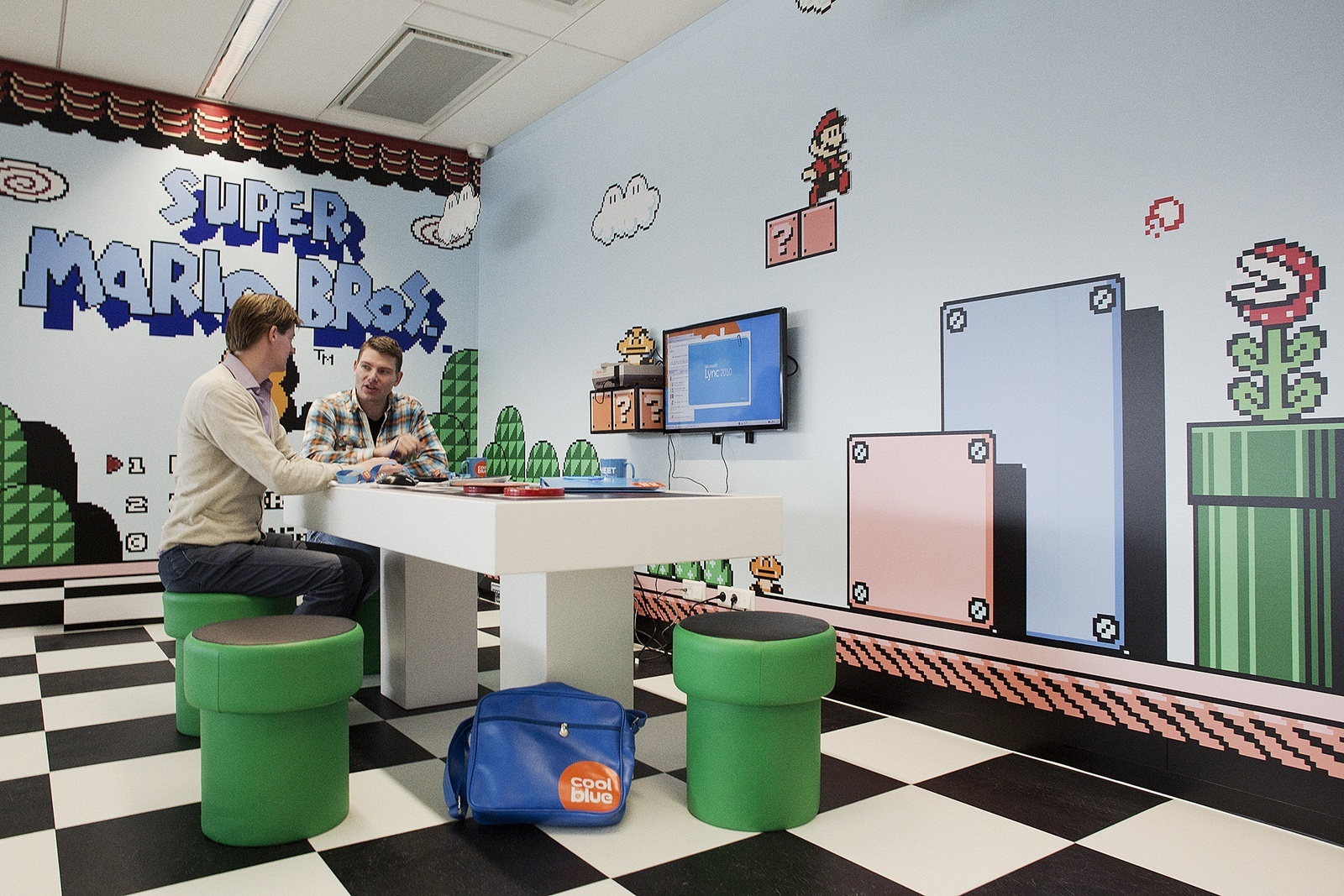 Check Out The Playful Offices Of Coolblue Officelovin