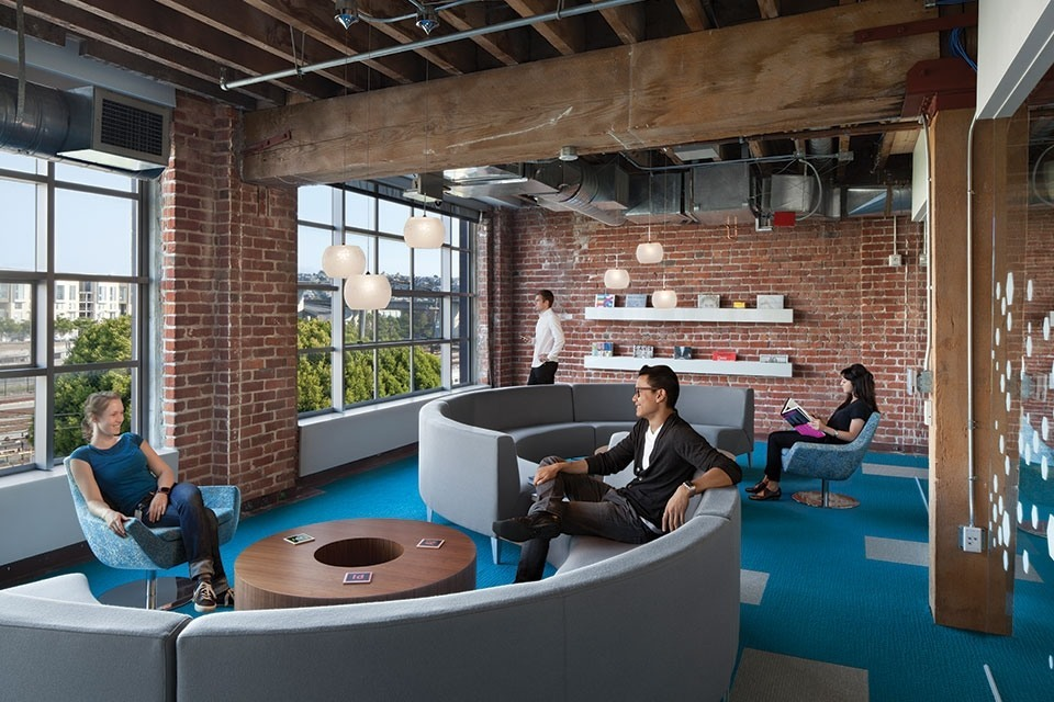 A Tour of Adobe\'s Beautiful Office in San Francisco - Officelovin\'