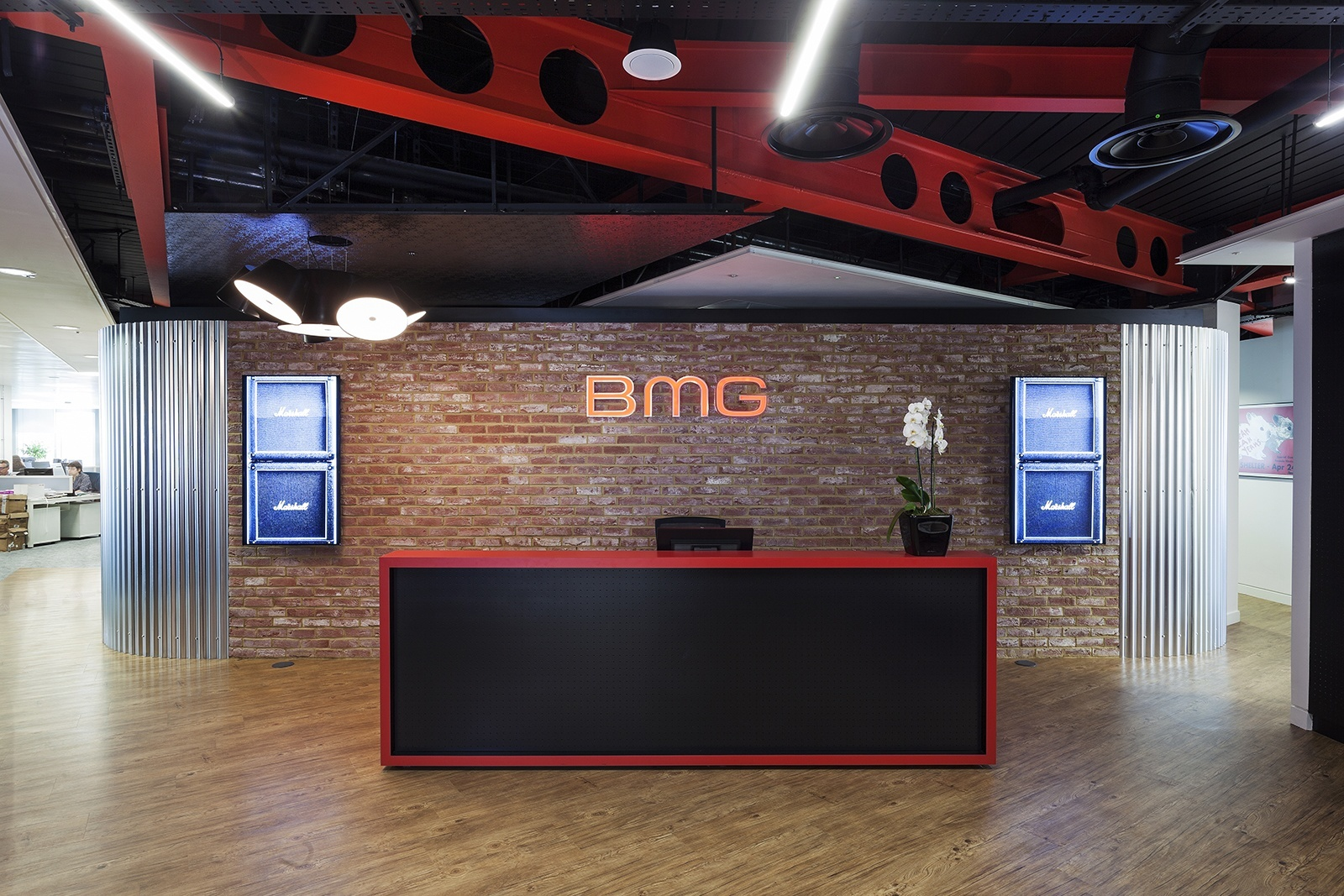 Inside Bmg S New Headquarters In London Officelovin