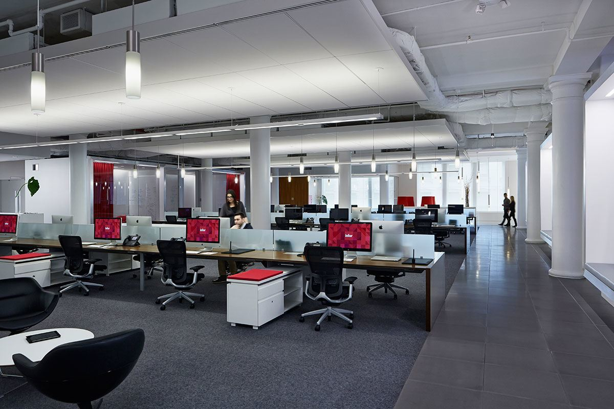 Inside Infor S Ultra Modern Headquarters In New York City Officelovin