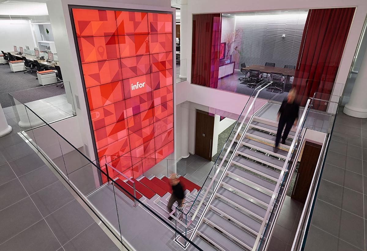 Inside Infor's Ultra Modern Headquarters in New York City