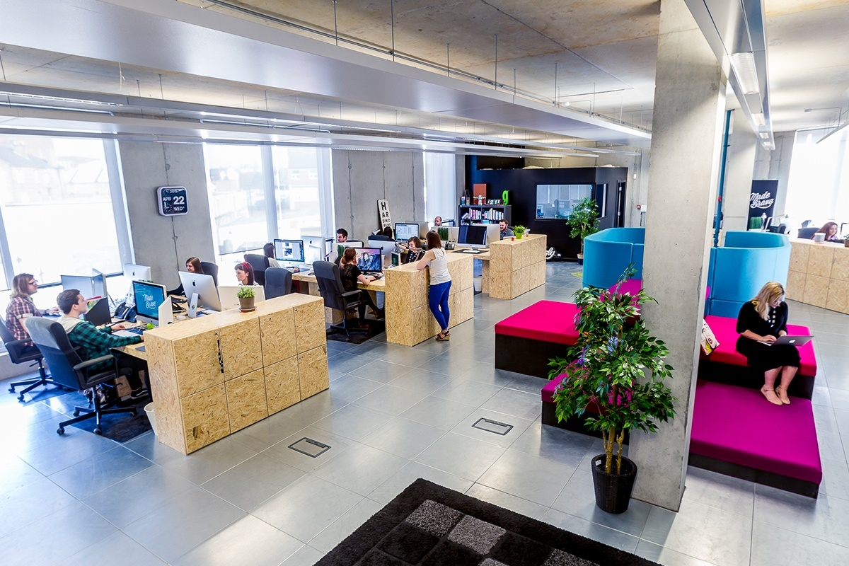 Inside MadeBrave's Super Cool Office in Glasgow