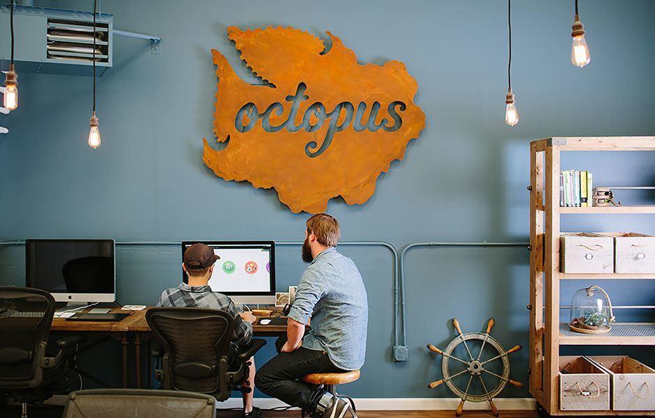 Take a Peek Inside Octopus Creative's Super Cool Office