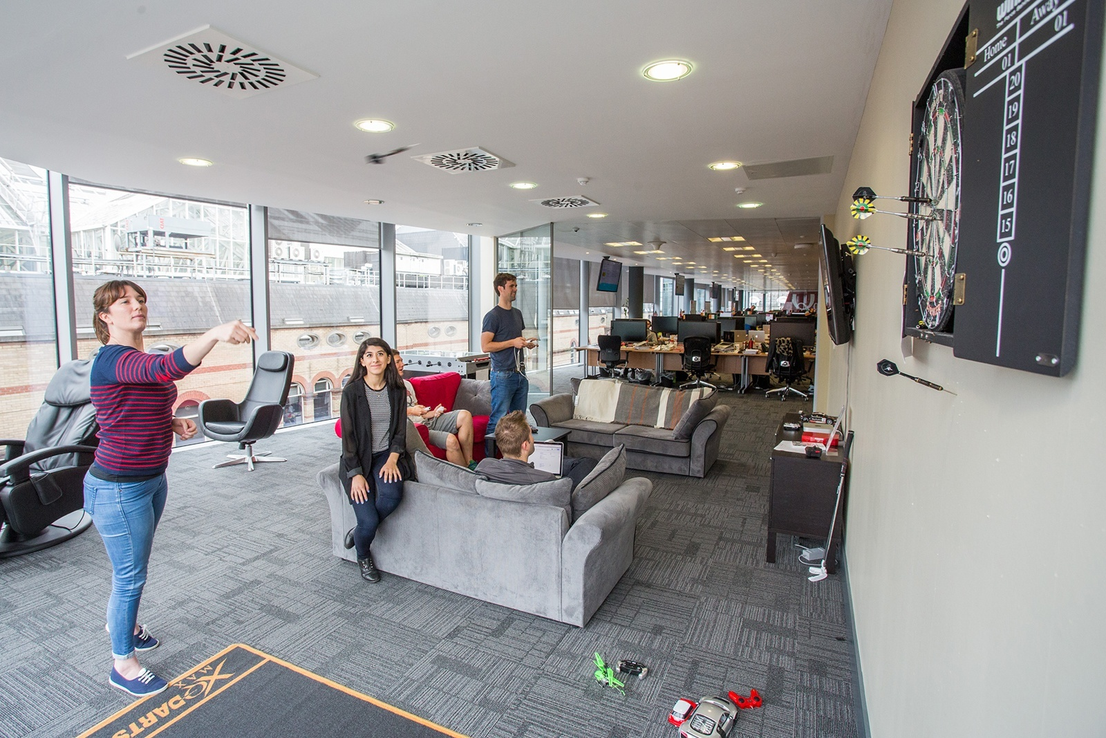 A Tour of Qualtrics New Dublin Office Officelovin