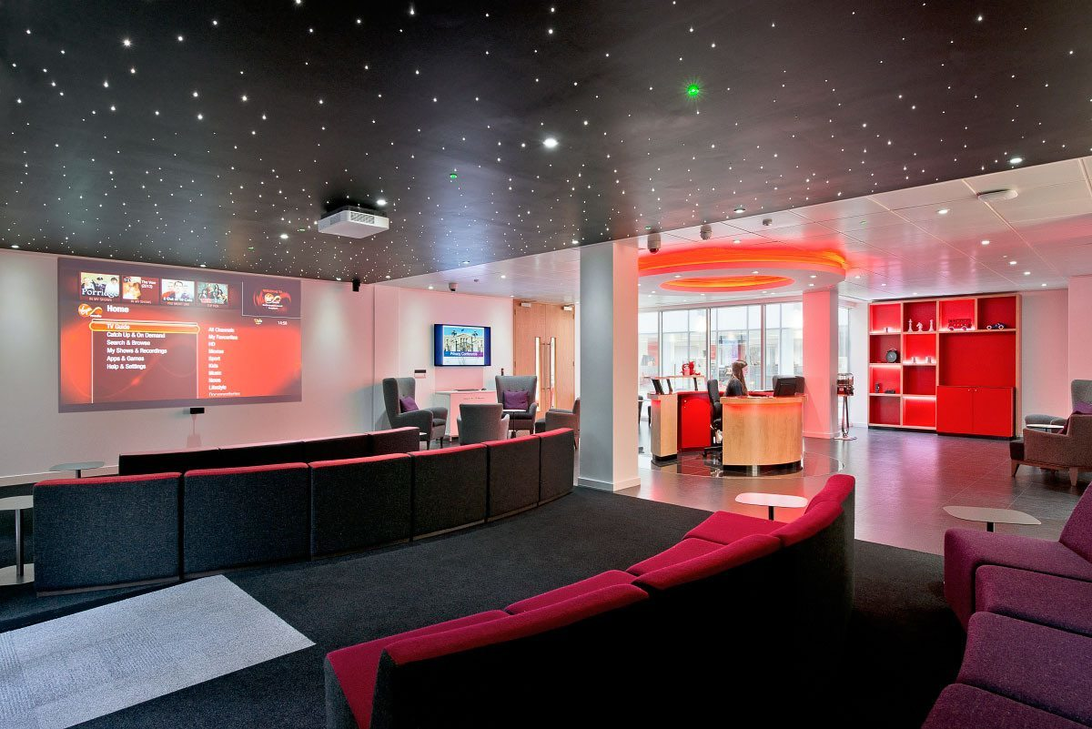 Take a Tour of Virgin Media's London Office