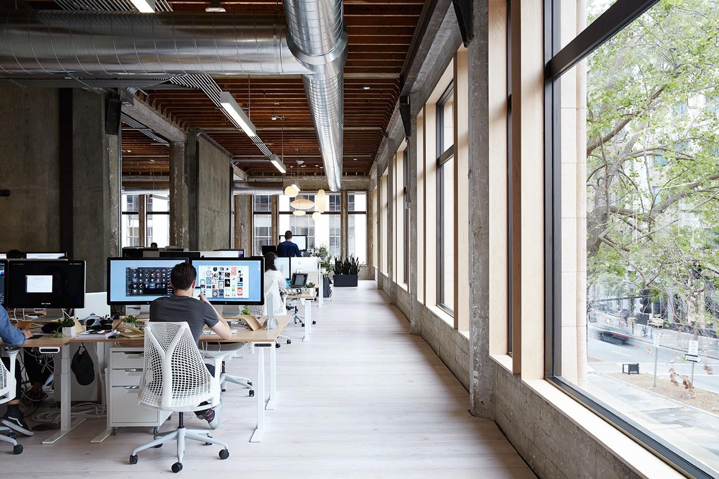 Used Work Vans >> A Look Inside VSCO's Amazing Headquarters in Oakland