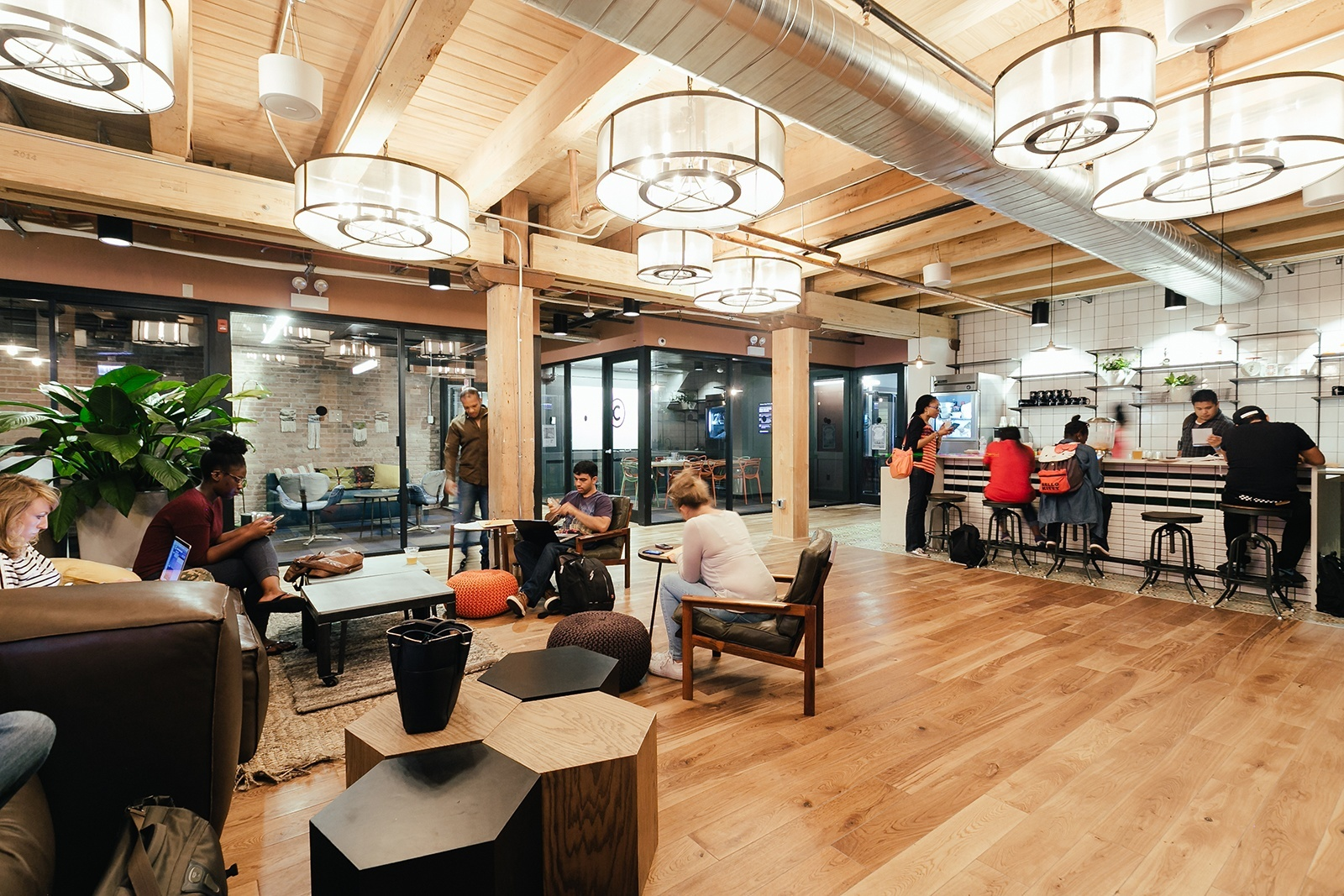 Check Out Photos Of Wework Fulton Market Officelovin