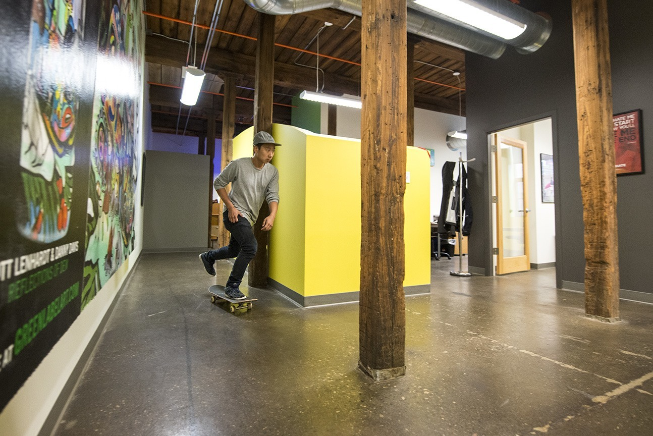 Check Out Photos of Fuse's Hip Offices in Vermont