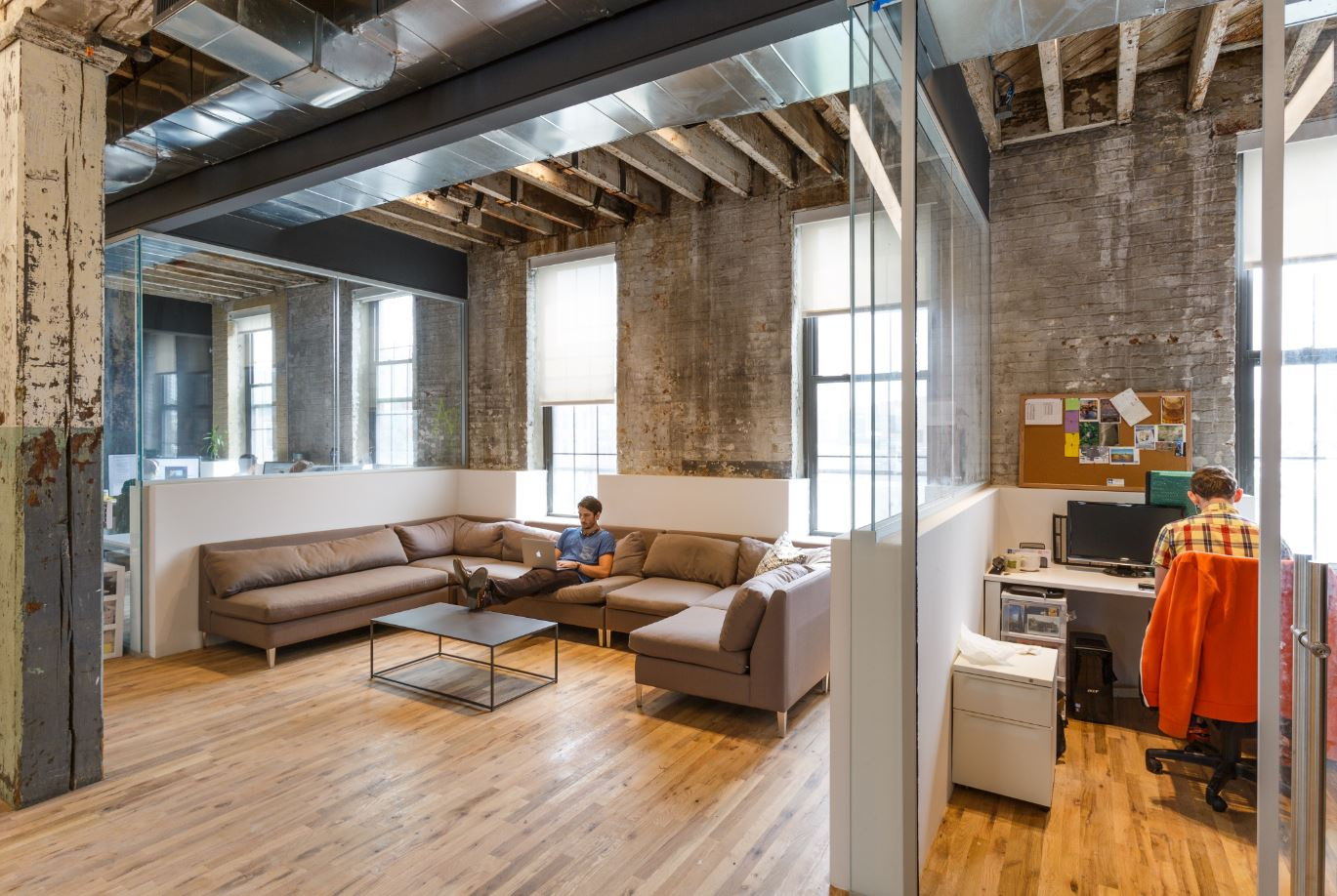 A Quick Look Inside Cowork Rs Brooklyn Coworking Space