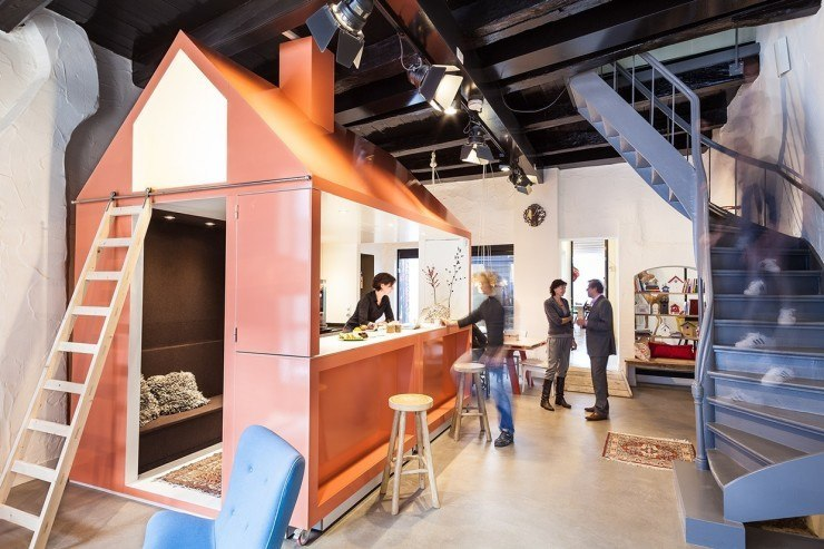 A look inside droom van zwolle s cool coworking space for Bar coworking milano