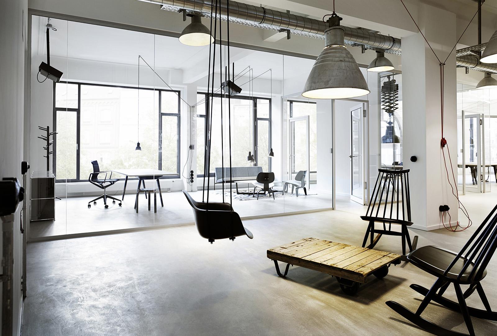 A Tour of Geometry Global's Elegant Hamburg Office