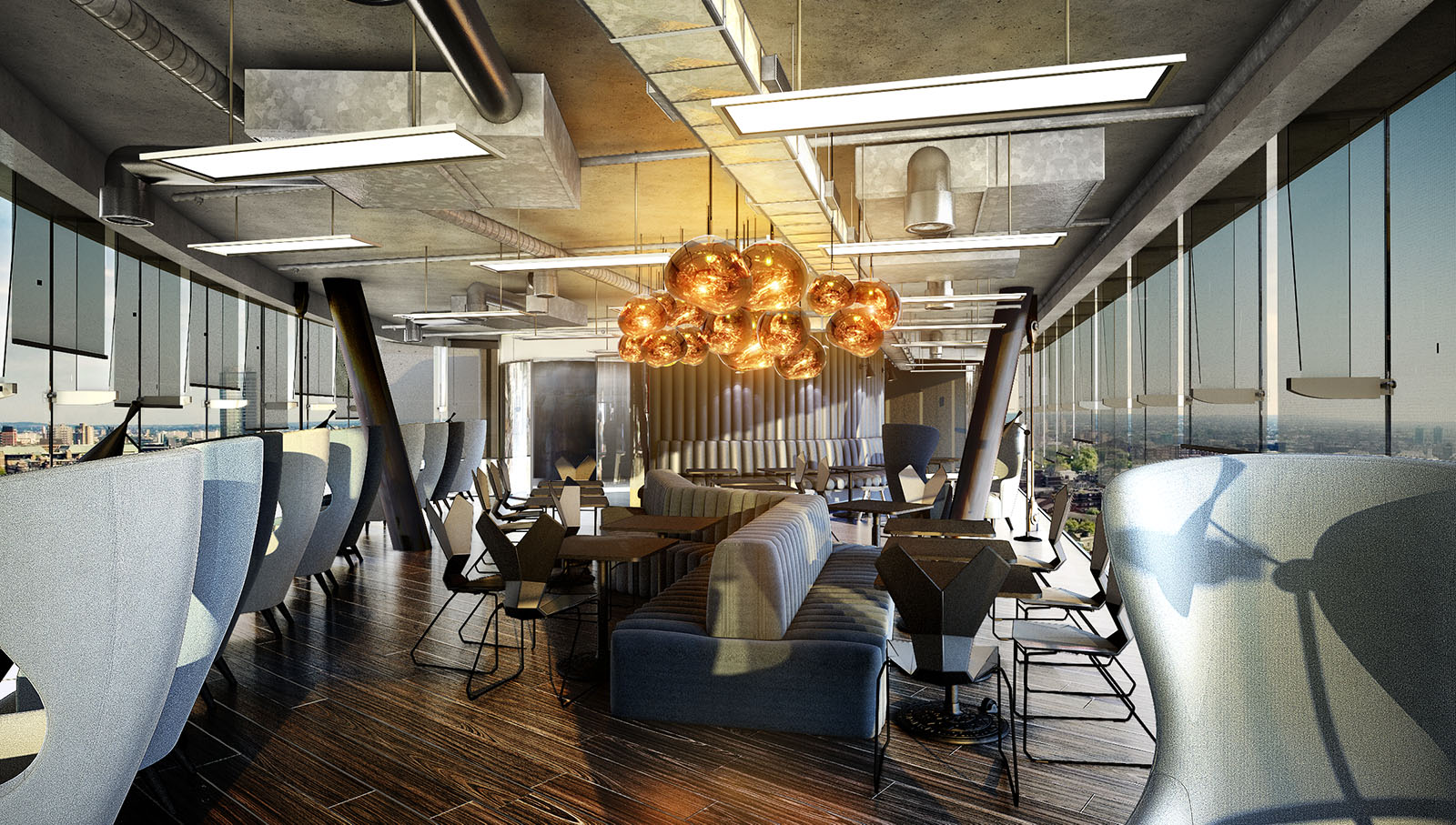 A look inside interchange s new coworking space in london for Space and co