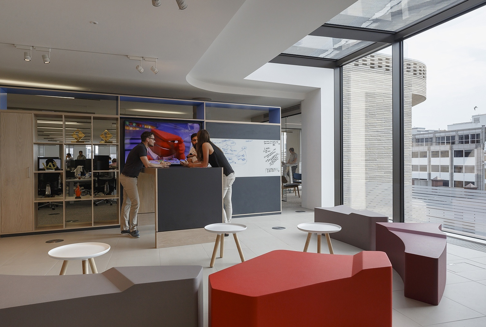 Inside Starcom MediaVest Group's Elegant London Office