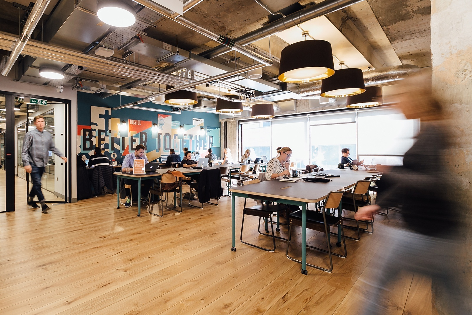 Inside Wework S Trendy Coworking Space In Devonshire