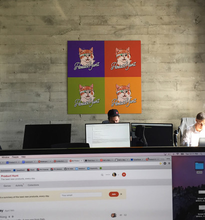 an exclusive tour of product hunts cool san francisco office audentes office san francisco main 2
