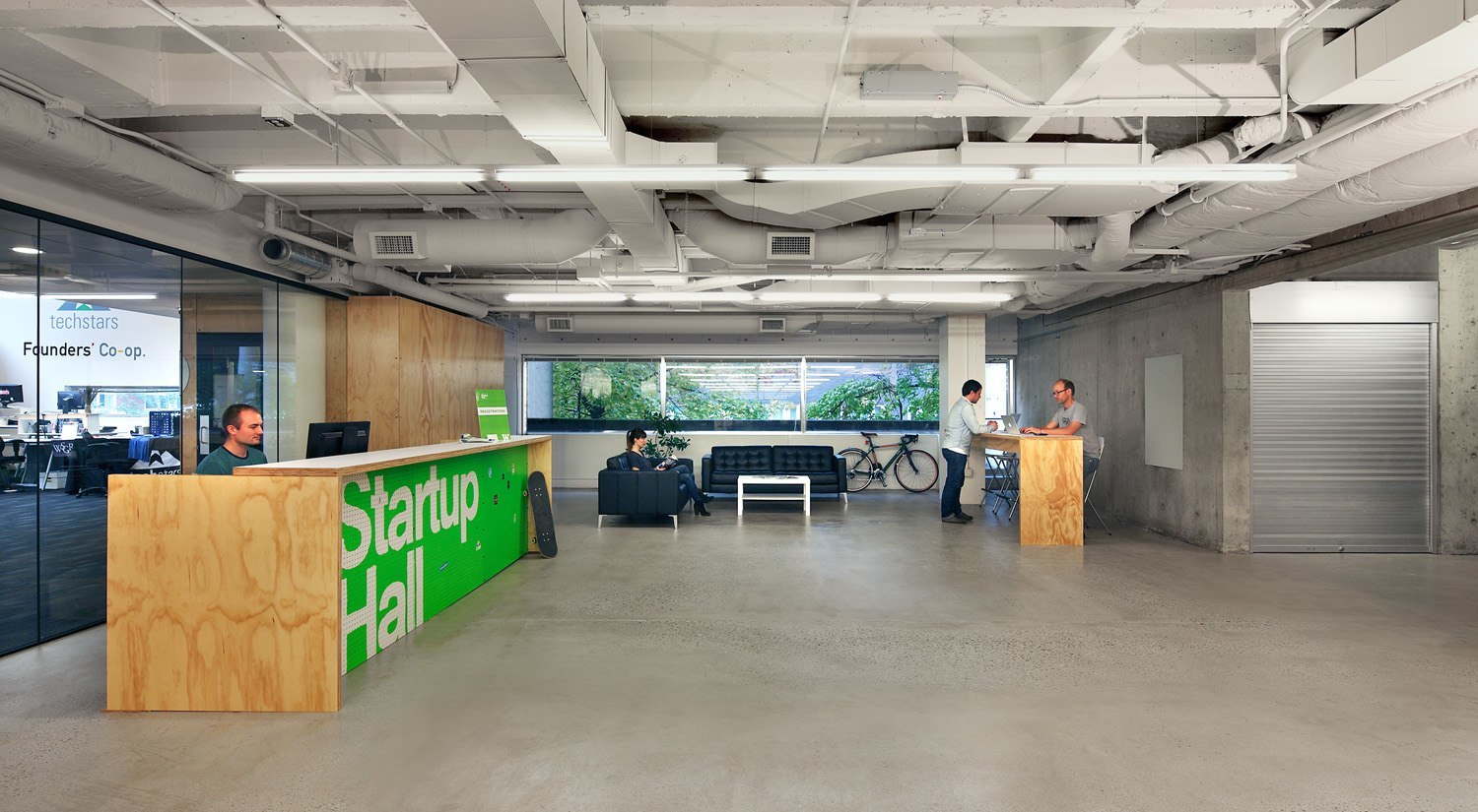 A Tour Of Startup Hall Officelovin