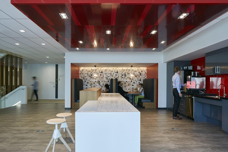 Inside Deloitte S New Elegant Montreal Office Officelovin