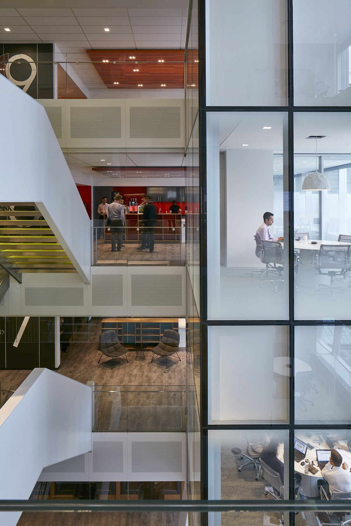Inside Deloitte S New Elegant Montreal Office Officelovin