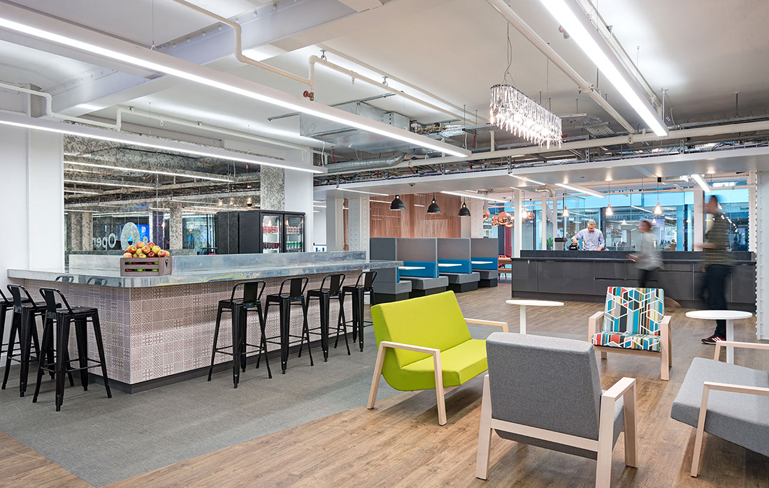 A Tour of OpenTable's New Beautiful London Office Officelovin'
