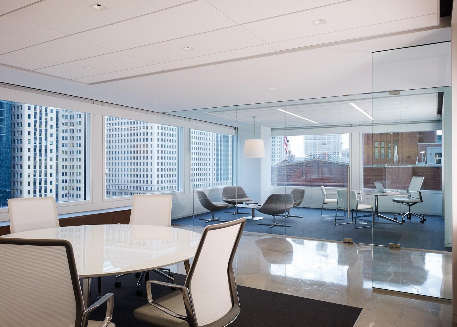 Inside Pivot Designs Elegant Chicago Office Officelovin