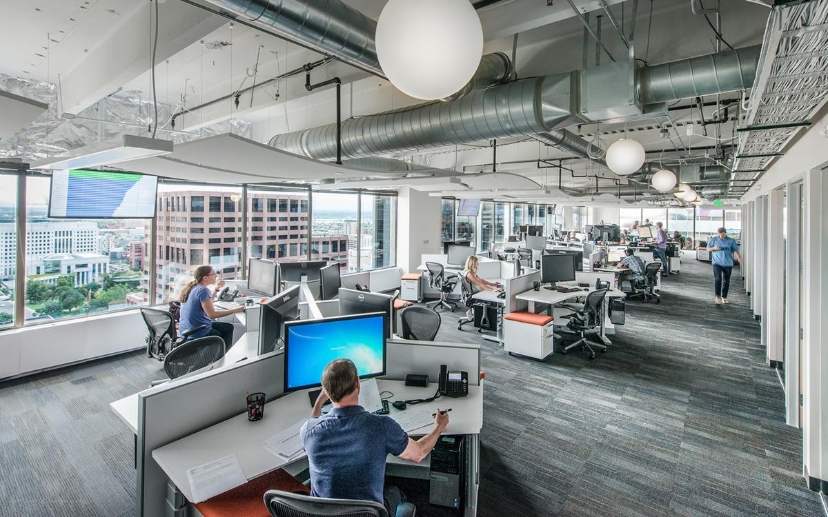 A look inside stack exchange s cool denver office for Office design denver