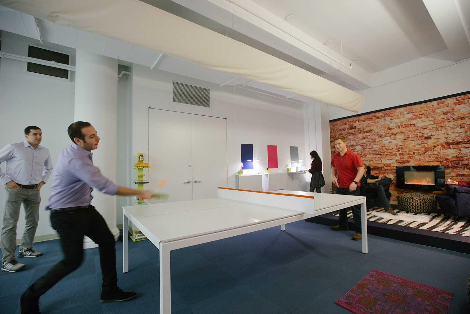 Take a Look at Tapads Cool NYC Headquarters Officelovin