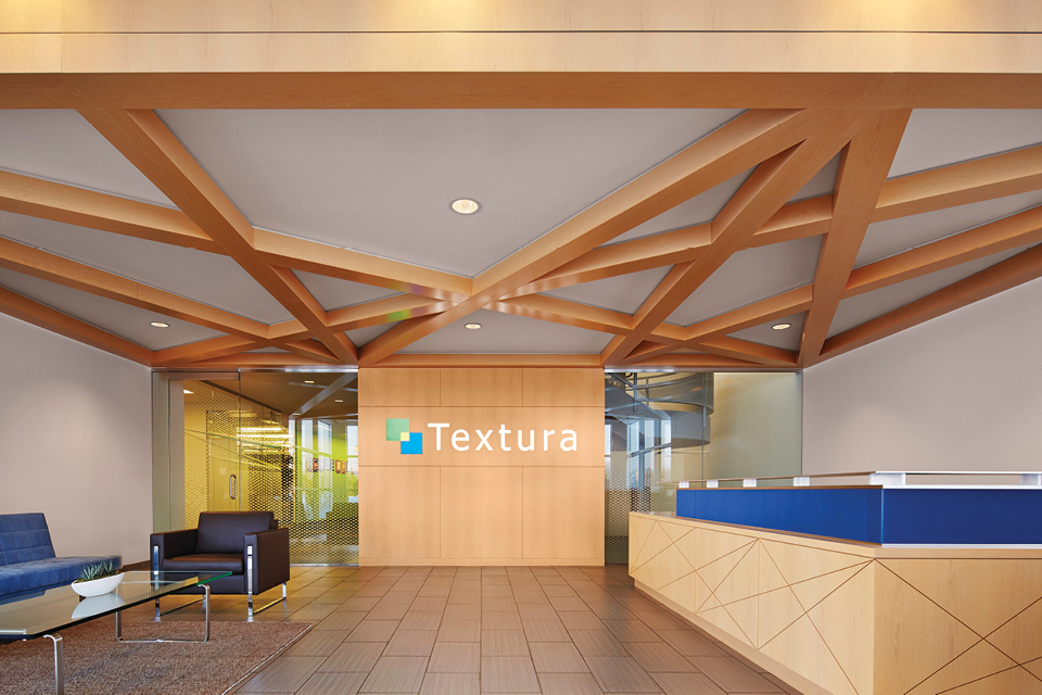 A Look Inside Textura's Elegant Headquarters