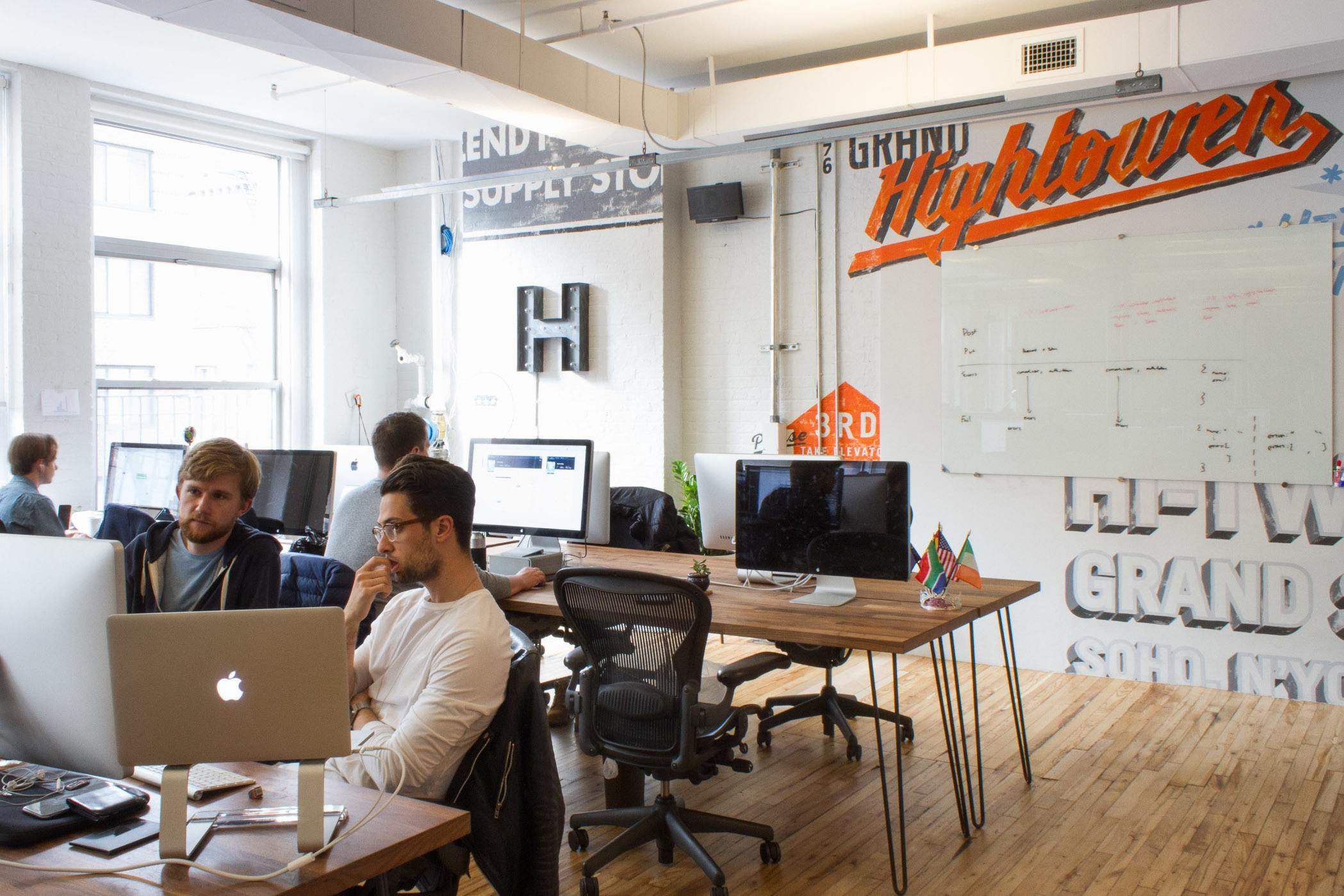 Inside hightower s new nyc office officelovin 39 for High end real estate nyc